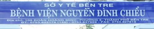 BV Nguyễn Đình Chiểu – Bến Tre